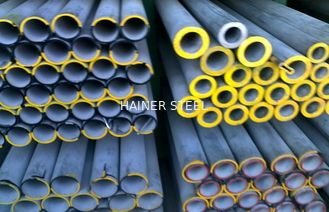 China ASTM A312 Heavy Wall Stainless Steel Pipe , Round Cold drawn Steel Tube supplier