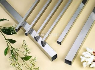 China 16 BWG Thin Wall stainless steel tube / Square Stainless Steel Sanitary Pipe supplier