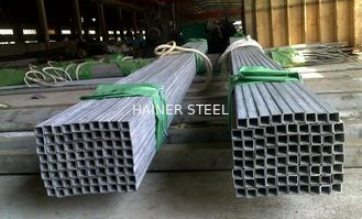China ASTM A312 A269 A213 Stainless Steel Square Tubing , Thick Wall 1 - 12mm supplier