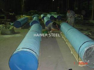 China ASTM A312 TP304 / 304L 316L Welded Stainless Steel Pipe 16 inch with Hot Finished supplier