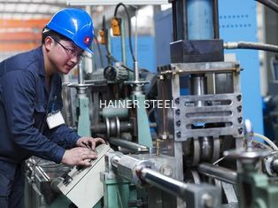 China 0Cr18Ni9 TP321 Welded Stainless Steel Pipe For Boiler , ASTM A249/A312 supplier