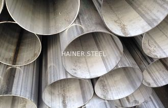 China AISI 316 / 316L Welded Stainless Steel Pipe Hot Rolled SS Tube 20mm - 1000mm OD supplier