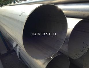 China Annealed & Pickled Stainless Steel Welded Pipe GB DIN EN , ISO Certificated supplier