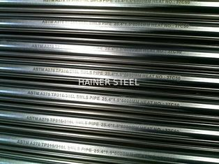 China 201 304 316L Food Grade Stainless Steel Tubing , 6mm to 600mm OD supplier