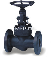 China DN15 - DN50 ANSI API Seal Forged Steel Globe Valve Socket - Welding Pressure supplier