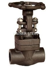 China Medium Pressure Forged Steel Gate Valve NPT End , 800LB / 1500LB supplier