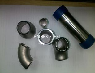 China Seamless 904L 2205 310S Stainless Steel Reducing Tee / Reducing Cross Pipe Fitting, AP Finish Saltation Finish supplier