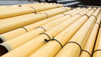 China EN 10219 S235 JRH EN10217 Seamless / ERW Carbon Steel Tube , FBE Coated Water Pipe supplier