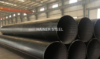 China Q245B Q345B 16Mn Hot Finished / Cold Finished ERW Carbon Steel Pipe For Fluid supplier
