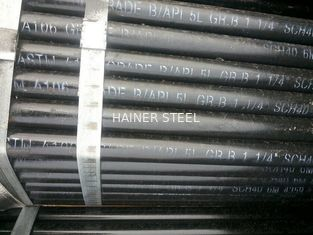"China ASTM A106 / API 5L Gr.B Seamless Carbon Steel Pipe,1-1/4"" SCH40 supplier"