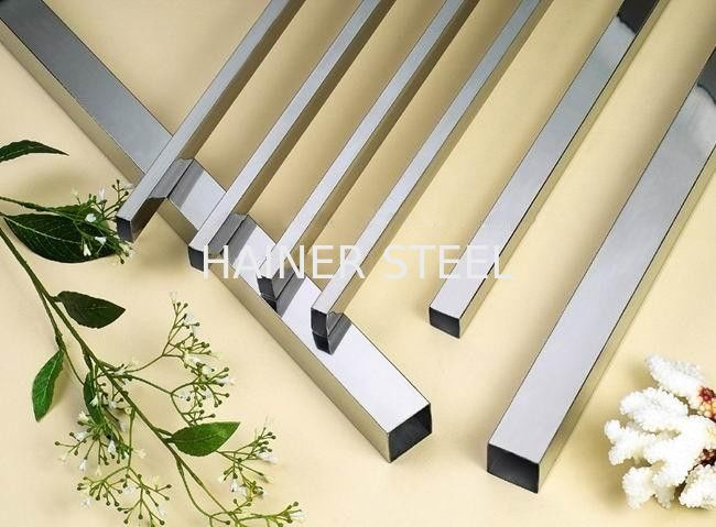 Bwg thin wall stainless steel tube square