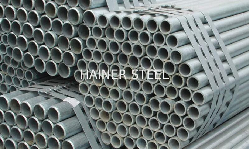 Hot Galvanized Seamless Erw Cabon Steel Pipe Q235 A106