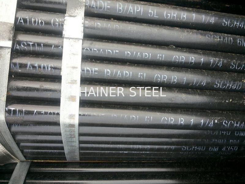 Astm A106 Api 5l Gr B Seamless Carbon Steel Pipe 1 1 4