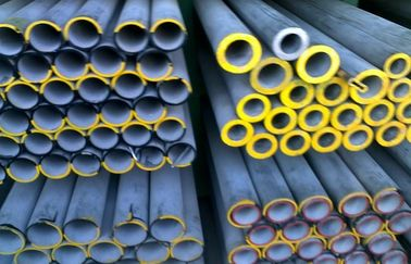 ASTM A312 Heavy Wall Stainless Steel Pipe , Round Cold drawn Steel Tube