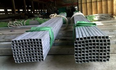 China ASTM A312 A269 A213 Stainless Steel Square Tubing , Thick Wall 1 - 12mm factory
