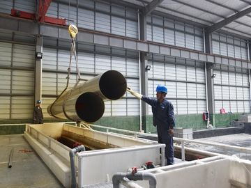 China 2B Finished Stainless Steel Round Tube , Schedule 10 / Schedule 5 SS Pipe factory