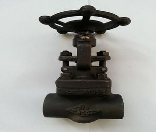 China A105 API Forged Steel Gate Valve With SW Threaded Flange End ,150LB - 1500LB distributor
