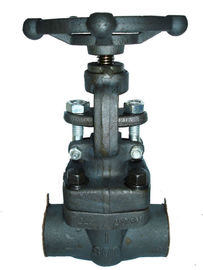 China 1500LB Forged Steel Globe Valve With SW End / Threaded End / Flange End distributor