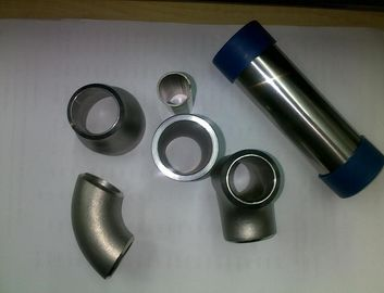China Seamless 904L 2205 310S Stainless Steel Reducing Tee / Reducing Cross Pipe Fitting, AP Finish Saltation Finish distributor