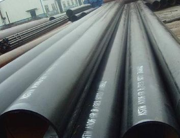China Plain End Black Painting & Varnish Coating API 5L Gr.B Seamless Steel Line Pipe factory