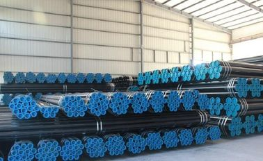 China Beveled End ASTM A53 / A106 Gr.B Seamless Carbon Steel Pipe / Tube , 1mm - 55mm distributor