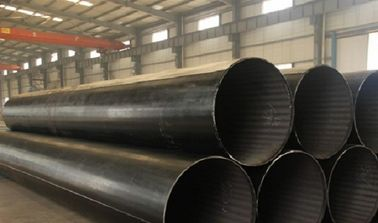 China Q245B Q345B 16Mn Hot Finished / Cold Finished ERW Carbon Steel Pipe For Fluid distributor
