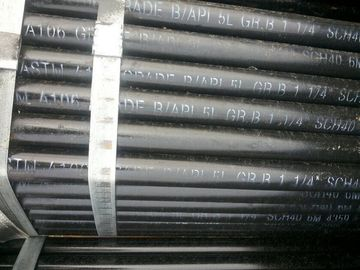 "China ASTM A106 / API 5L Gr.B Seamless Carbon Steel Pipe,1-1/4"" SCH40 distributor"