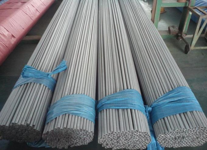Beveled End Welded Stainless Steel Heat Exchanger Tubing , 32mmx2mmx8000mm