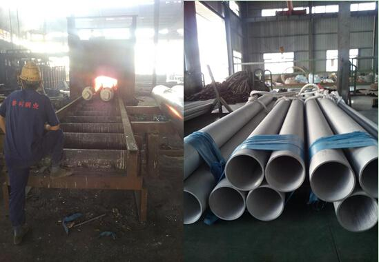 Pickled Round Seamless Big Wall Steel Pipe / Marine Stainless Steel Tubing 304L