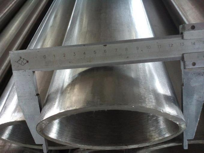 2b No 1 Bright Surface Seamless Stainless Steel Oval Tube